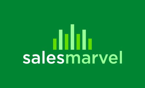 Salesmarvel - Sales promotion startup name for sale