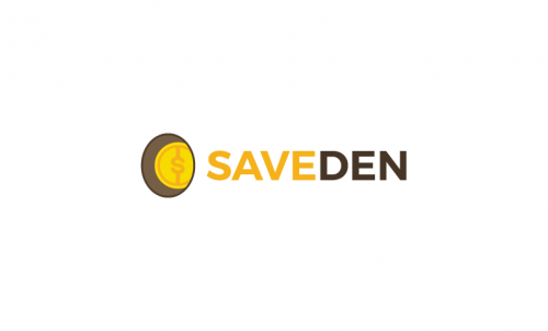 Saveden - Powerful domain name for a shopping service