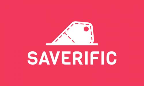 Saverific - E-commerce startup name for sale