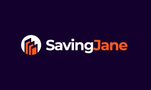 Savingjane - E-commerce startup name for sale