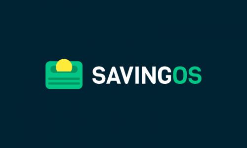 Savingos - Business domain name for sale