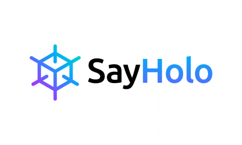 Sayholo - Technology startup name for sale