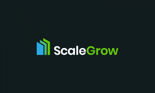Scalegrow - Approachable business name for sale