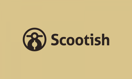 Scootish - Travel company name for sale