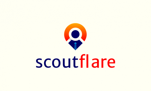 Scoutflare - Recruitment startup name for sale