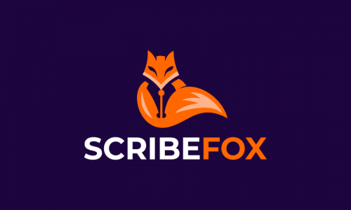 Scribefox - Writing domain name for sale