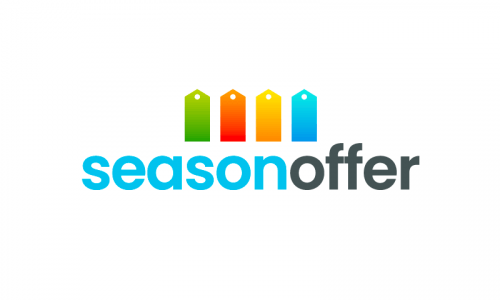 Seasonoffer - Retail startup name for sale