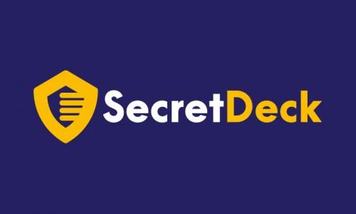 Secretdeck - E-commerce domain name for sale