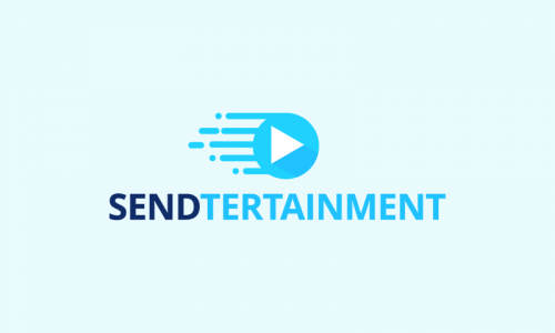 Sendtertainment - Retail startup name for sale