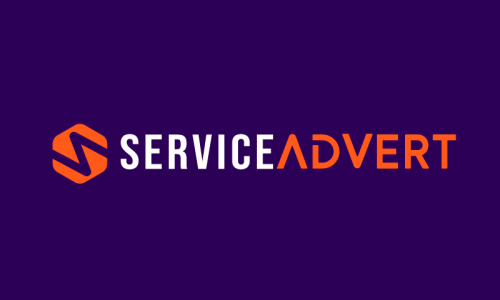 Serviceadvert - Marketing startup name for sale