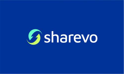 Sharevo - Social networks startup name for sale