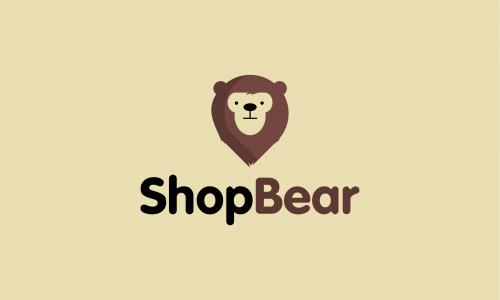 Shopbear - E-commerce domain name for sale