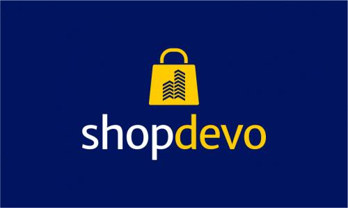 Shopdevo - E-commerce company name for sale