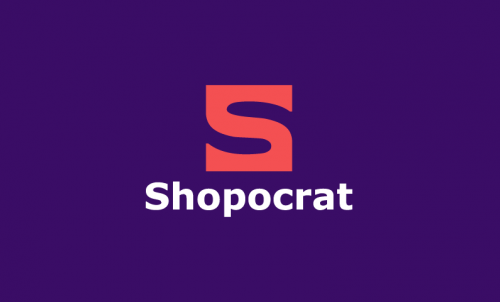 Shopocrat - E-commerce company name for sale