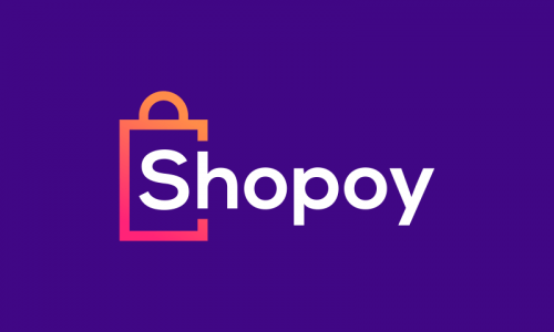Shopoy - E-commerce company name for sale