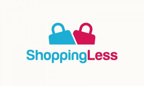 Shoppingless - E-commerce startup name for sale