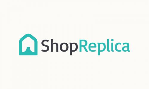 Shopreplica - E-commerce startup name for sale