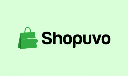 Shopuvo - E-commerce startup name for sale
