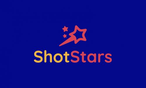 Shotstars - E-commerce business name for sale