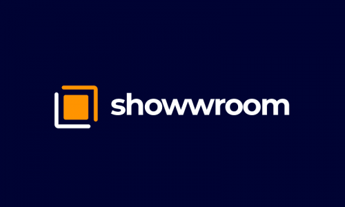 Showwroom - E-commerce startup name for sale