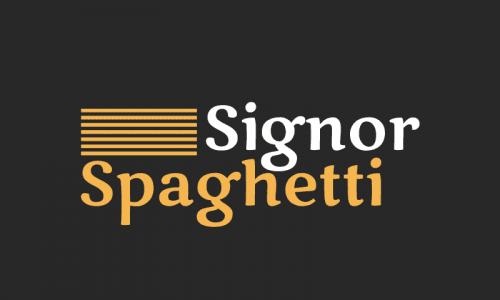 Signorspaghetti - E-commerce company name for sale