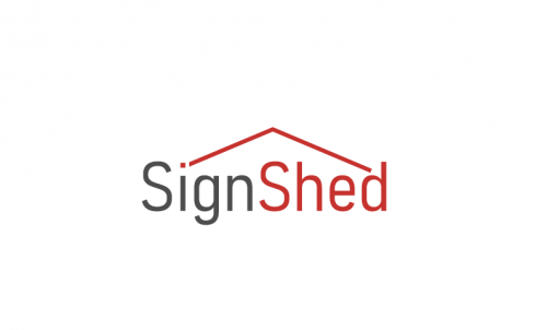 Signshed - Design company name for sale