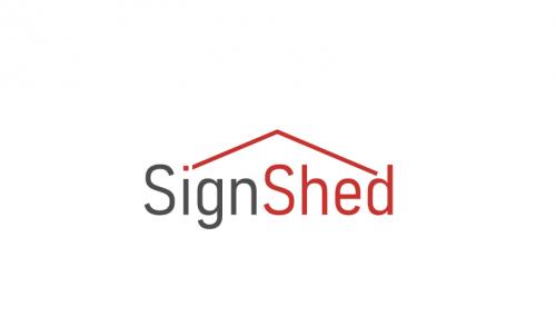 Signshed - Design startup name for sale