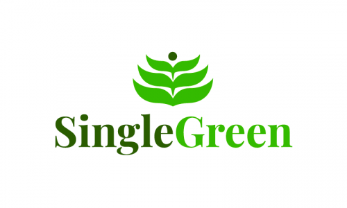 Singlegreen - Appealing startup name for sale
