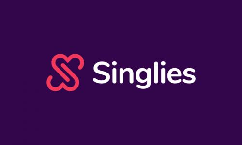 Singlies - Social company name for sale