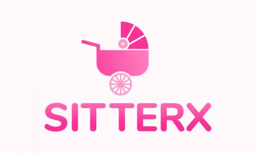 Sitterx - Childcare brand name for sale