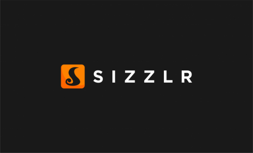 Sizzlr - Modern business name for sale