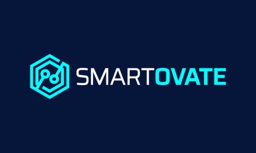 Smartovate - Smart home company name for sale
