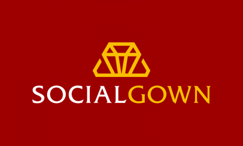 Socialgown - Social brand name for sale
