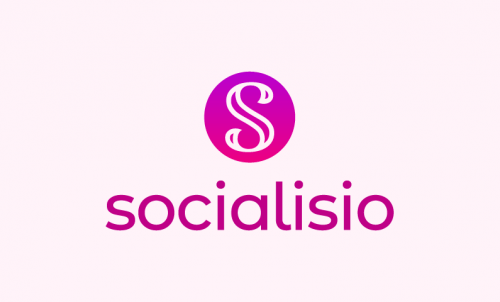 Socialisio - Social company name for sale