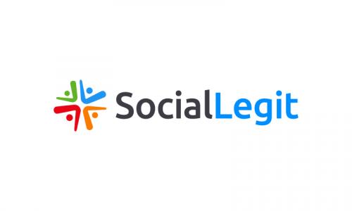 Sociallegit - Social brand name for sale