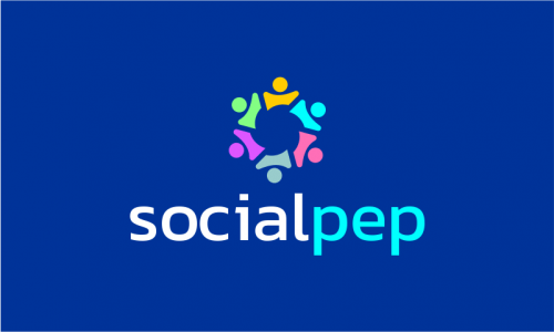 Socialpep - Social networks brand name for sale
