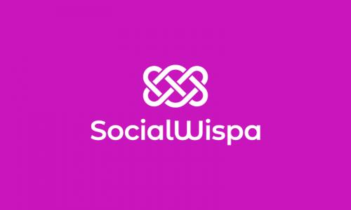 Socialwispa - Social networks startup name for sale