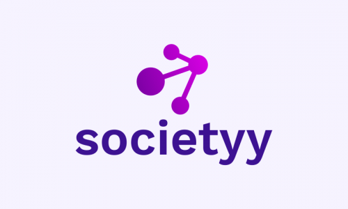 Societyy - Social networks business name for sale