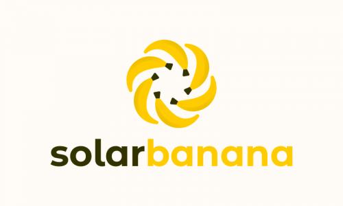 Solarbanana - Power company name for sale