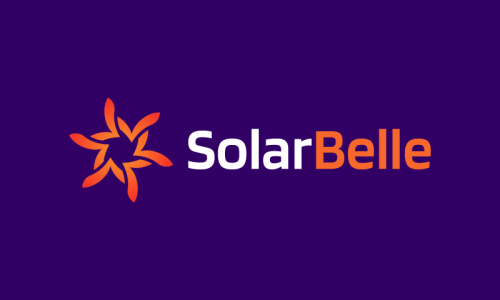 Solarbelle - Beauty startup name for sale