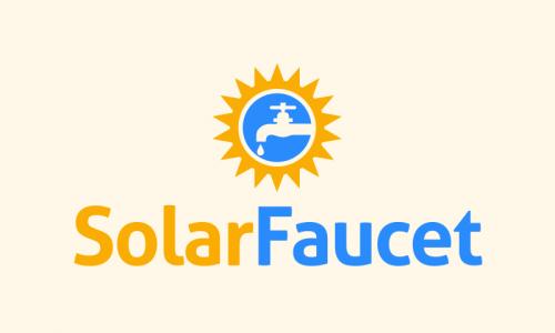 Solarfaucet - Environmentally-friendly domain name for sale