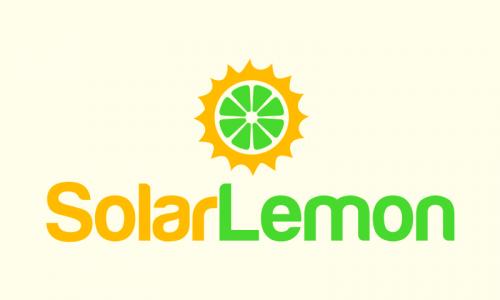 Solarlemon - Retail startup name for sale