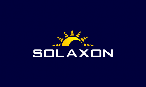 Solaxon - Green industry startup name for sale