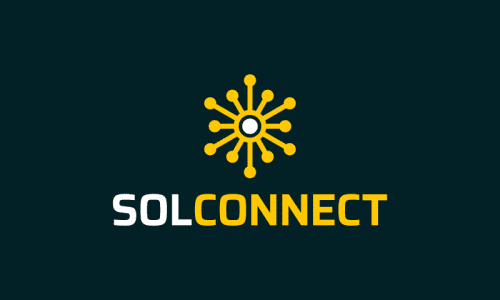 Solconnect - Green industry startup name for sale