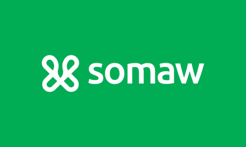 Somaw - Writing company name for sale