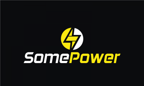 Somepower - Energy startup name for sale