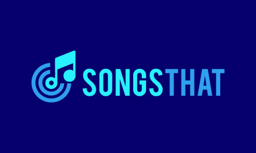 Songsthat - Music domain name for sale