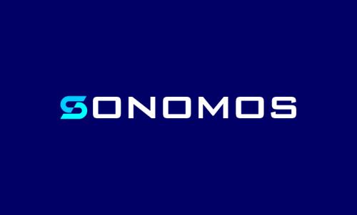 Sonomos - Marketing domain name for sale