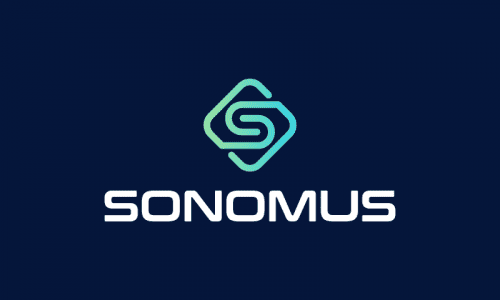 Sonomus - Technology startup name for sale