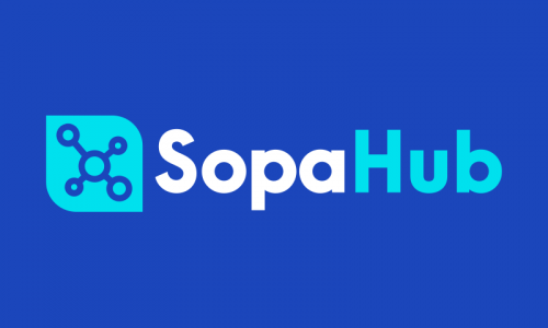 Sopahub - E-commerce company name for sale